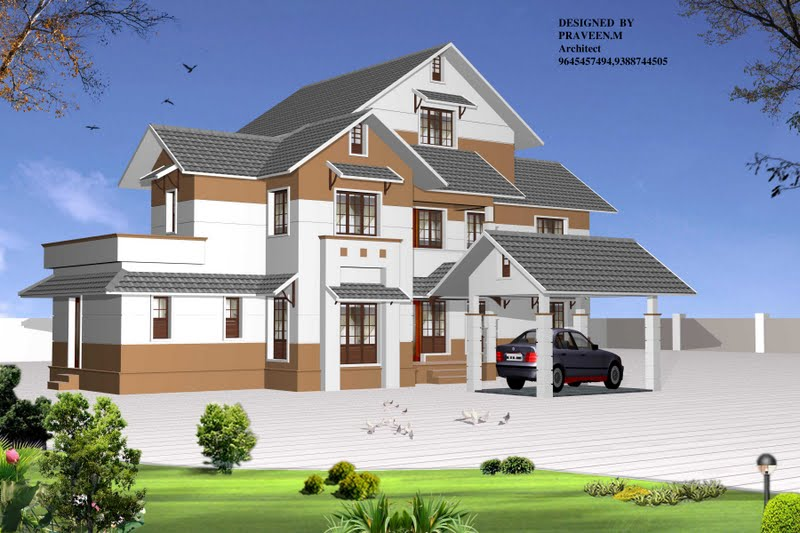 3 Bedroom House Plans In Kerala