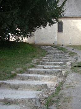 Escadas de pedra