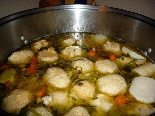 ... Too Many Cooks: Jewish penicillin (aka Chicken soup with matzo balls