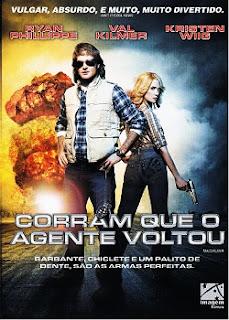 Corram Que o Agente Voltou (2010) DVDRip Dual Audio