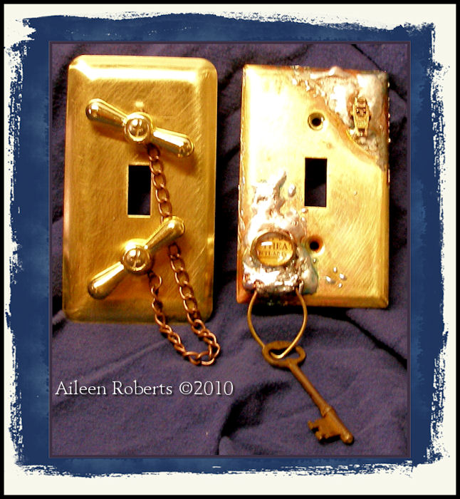 Aileen 39 S Musings Steampunk Light Switch Cover Rr