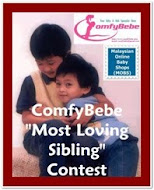 MOBS & Comfybebe MOST LOVING SIBLING contest
