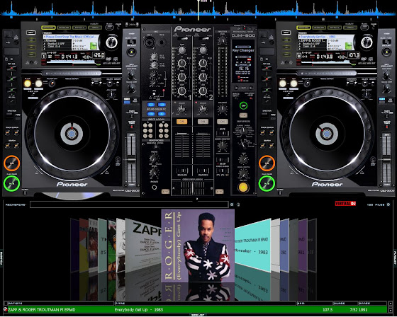 virtual dj pioneer skin free download