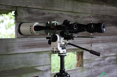Pentax 75SDHF 天文望遠鏡, 關渡自然公園,