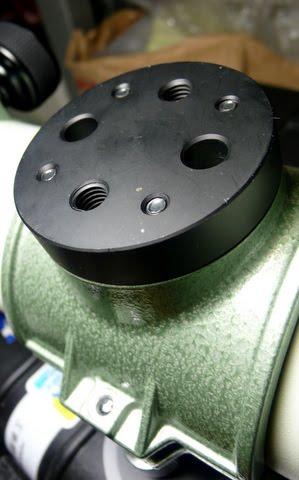 給Pentax 75SDHF筒箍使用的轉換座