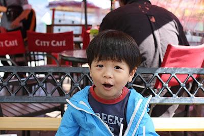 小朋友頗喜歡野餐的Fu