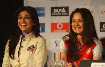 Shilpa Shetty & Preity Zinta