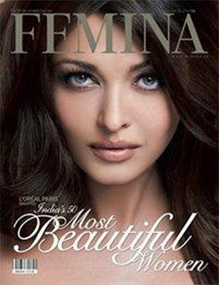 Aishwarya Rai Bachchan on Femina magazine Cover