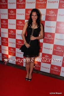 Sonakshi sinha at triumph show
