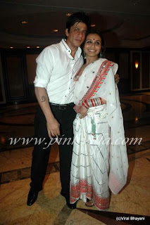Rani and SRK at Neelam Wedding reception