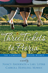 """Three Tickets to Peoria,"" second volume in ""The Company of Good Women"" series"