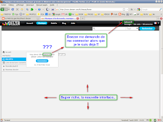 Deezer problème login V3 - image