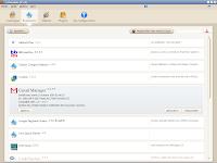 Thème Charamel pour Firefox 3.5 : fenêtre des modules complémentaires - extensions
