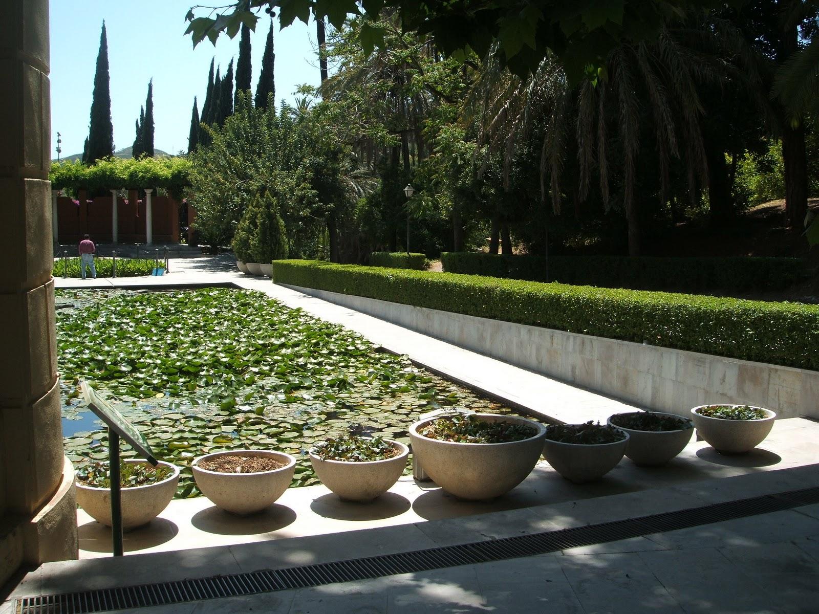 Garden tour en m laga la concepci n paisaje libre for Jardin de la conception malaga