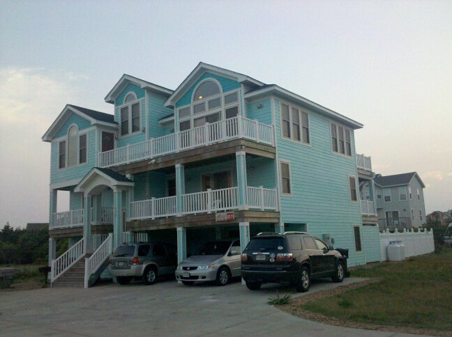 The OBX beach house