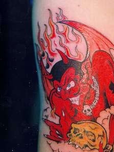 Devil Tattoos and Evil Tattoos: Soul Of Tattoo