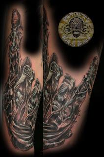 Tattoos Good: Rock and roll tattoo - musician tattoo: Tattoos and ...