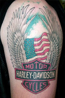 Harley Davidson Tattoos - Popular Tattoo Designs118