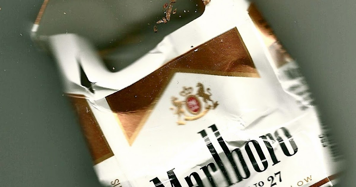 Cigarettes Marlboro with plastic filter