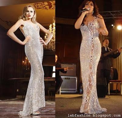 Najwa Karam Dresses