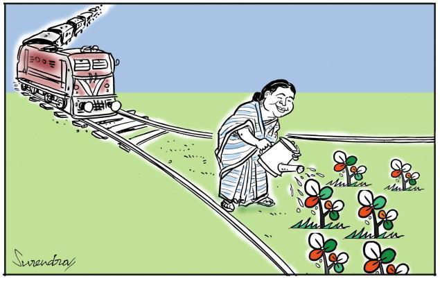 mamata banerjee cartoon picture. MAMATA BANERJEE MISUSES INDIAN