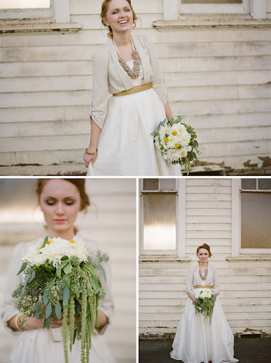 vintage wedding dress with jacket