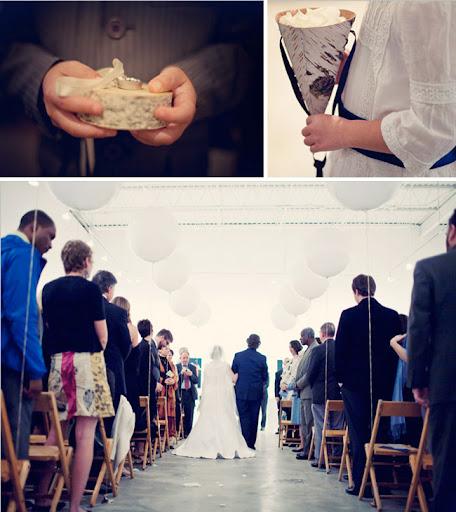 wedding pew decoration balloons church decor ceremony decor Modern Art
