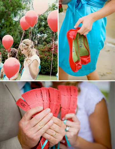 carnival wedding photos balloons