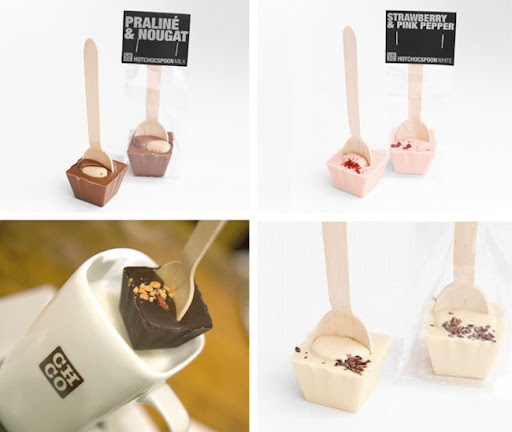 hot chocolate on a stick chocospoons hot chocolate spoons