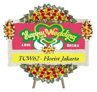 Bunga Ucapan Happy Wedding