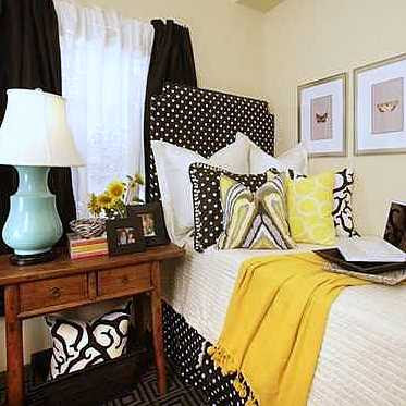 Dorm Room Decorating Ideas  Girls on Matt Clinton Designs  September 2010