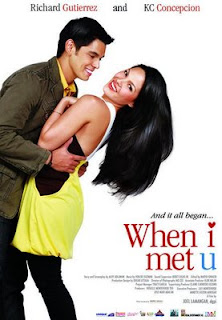 Pinay Channel TV Videos GMA http://impinoy.blogspot.com/2009/01/when-i-met-u-movie-trailer.html