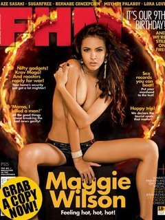 Pinay Channel TV Videos GMA http://impinoy.blogspot.com/2009/02/maggie-wilson-fhm-march-2009.html