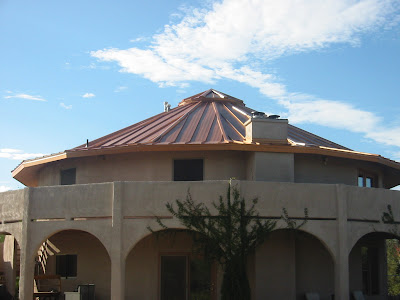 Adventures At The Tucson Round House New Metal Roof