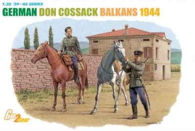 Don Cossacks serving with German forces in the Balkans in 1944
