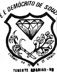 ESCOLA ESTADUAL DEMÓCRITO DE SOUZA