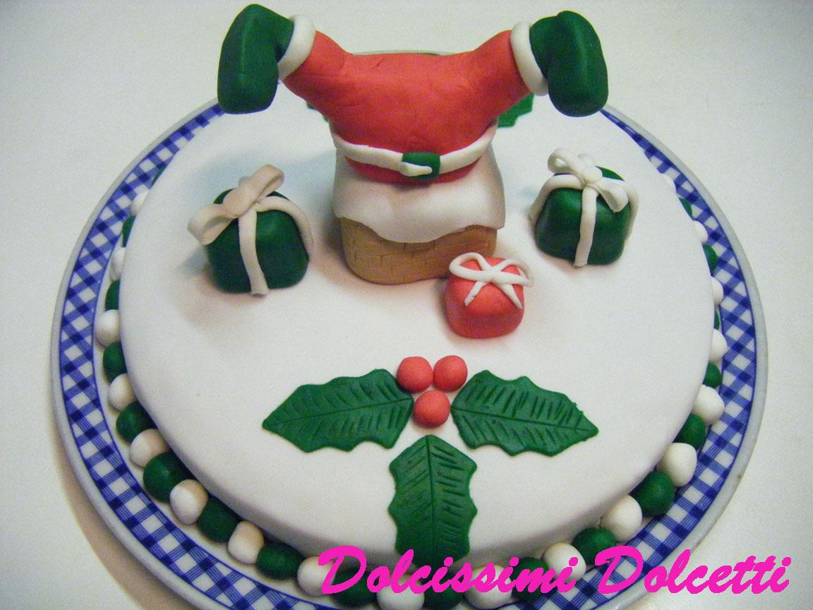 Dolcissimi dolcetti torte con pasta di zucchero - Torte natalizie decorate ...
