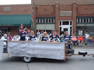 Cambridge Little League Float