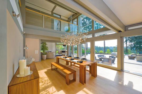 dise o y arquitectura sustentable casas prefabricadas verdes huf haus. Black Bedroom Furniture Sets. Home Design Ideas