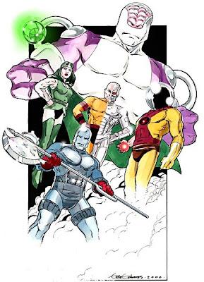 [Unsafe Future] Titans VS Fatal Five. FatalFive_blog