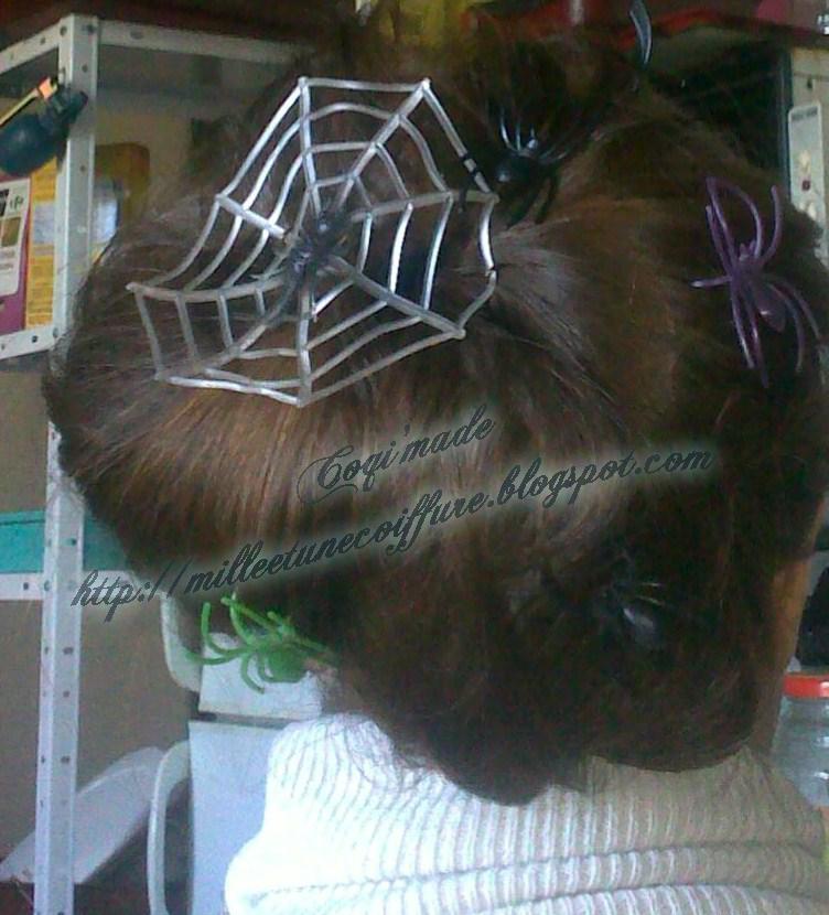 Tutoriels de coiffures de f tes sommaire photos 1001 coiffures - Coiffure halloween facile ...