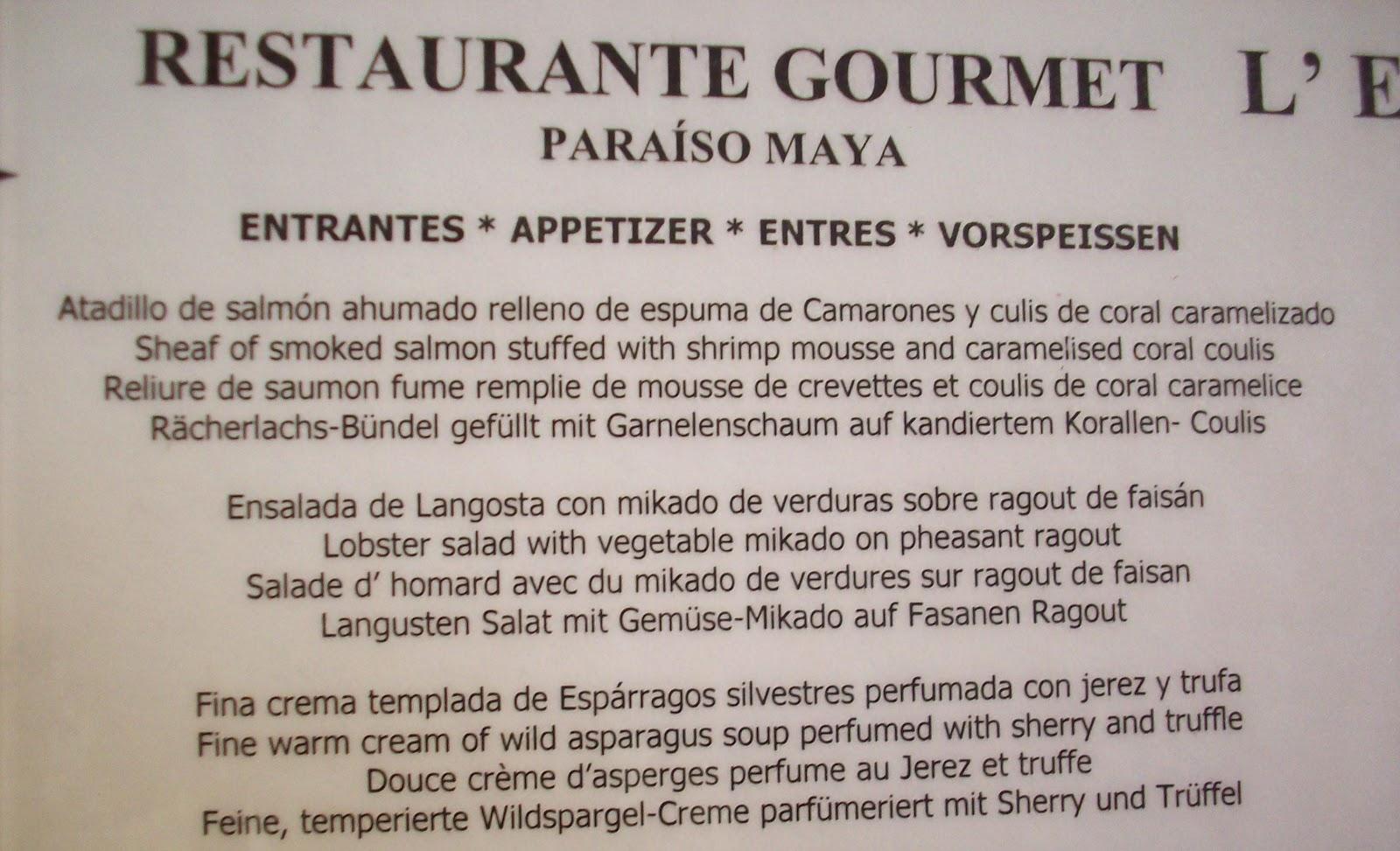 Cocina Creativa: ALTA COCINA MEXICANA: Restaurante Gourmet L´ETOILE ...