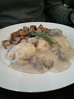 Veggie Sausage with Biscuits and Gravy