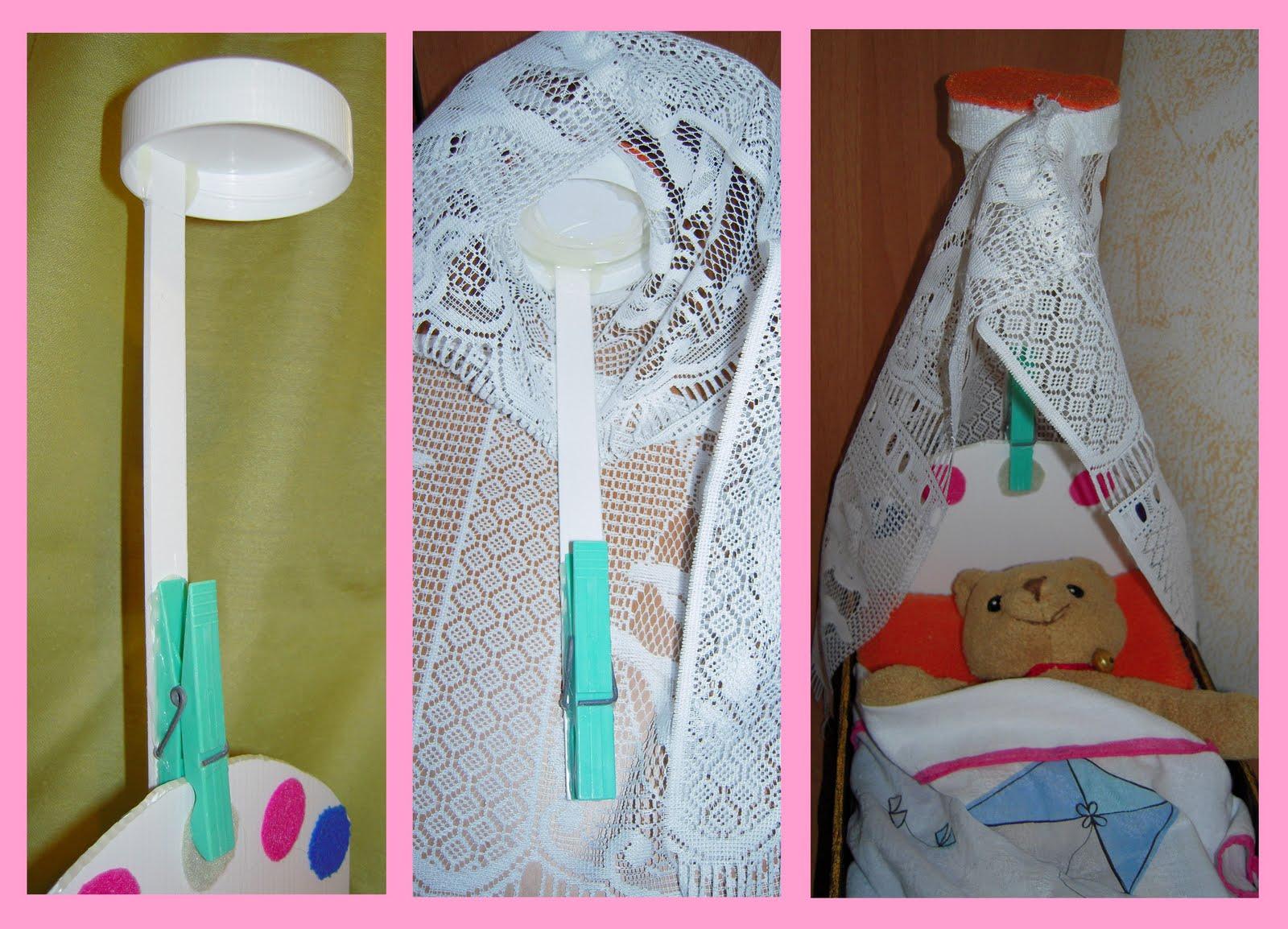 Mamma claudia e le avventure del topastro lettino per bambole for Oggetti per barbie fai da te