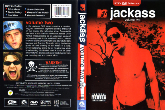 Jack ass tv series dvd