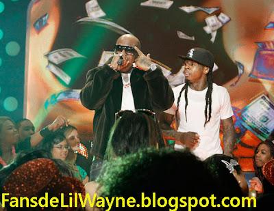 Imagen de Birdman y Lil Wayne en 106 & Park