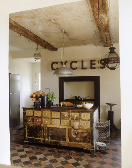 Rustic Kitchen Images