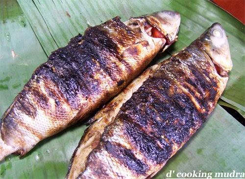 Dcookingmudra inihaw na bangus grilled milkfish for Boneless fish grill