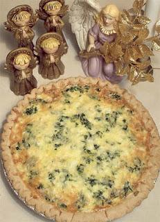 Heavenly Spinach & Feta Quiche Recipe