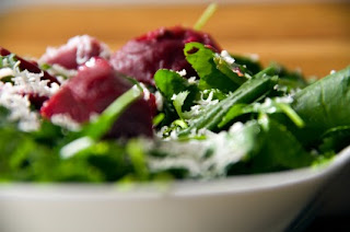 Beets & Goat Cheese Salad Recipe